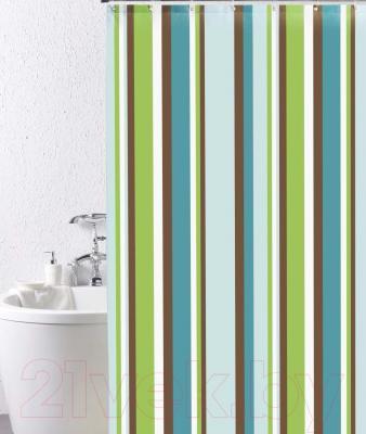 Текстильная шторка для ванной Iddis 199P200i11 - общий вид