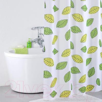 Текстильная шторка для ванной Iddis 200P24RI11 - в интерьере