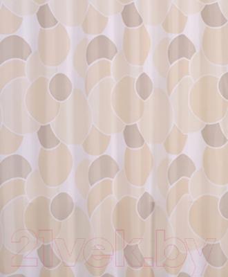 Текстильная шторка для ванной Iddis 230P24RI11
