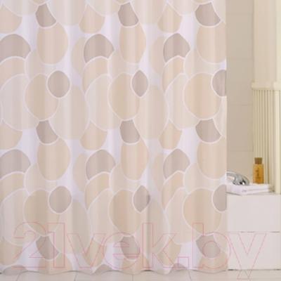 Текстильная шторка для ванной Iddis 230P24RI11 - в интерьере
