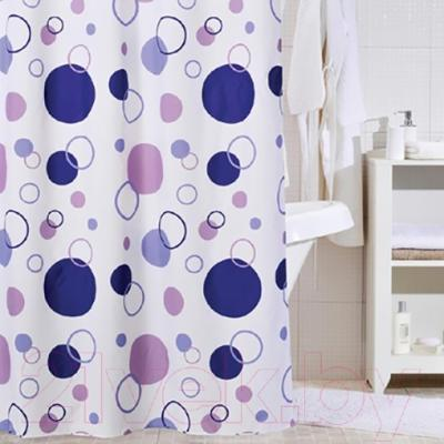 Текстильная шторка для ванной Iddis 240P24RI11 - в интерьере