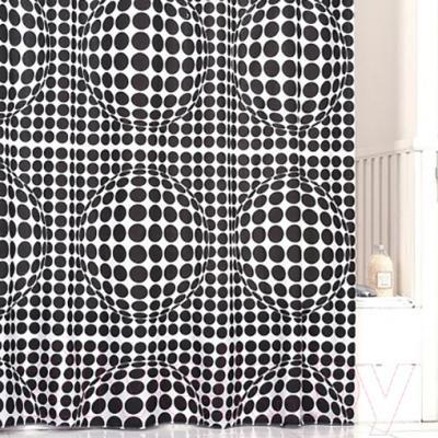 Текстильная шторка для ванной Iddis 260P24RI11 - в интерьере