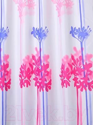 Текстильная шторка для ванной Iddis 270P24RI11