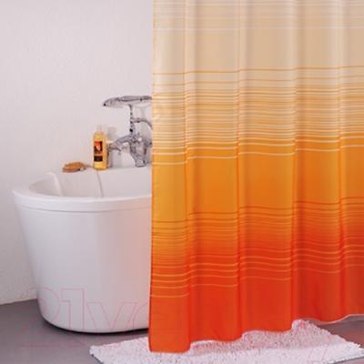 Текстильная шторка для ванной Iddis 300P20RI11 - в интерьере