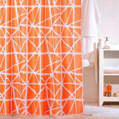 Текстильная шторка для ванной Iddis 330P20RI11 - в интерьере