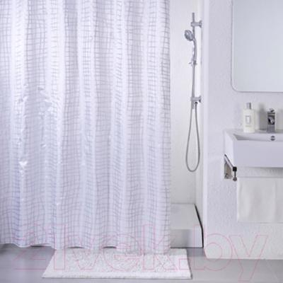 Текстильная шторка для ванной Iddis 341P20RI11 - в интерьере