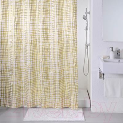 Текстильная шторка для ванной Iddis 342P20RI11 - в интерьере