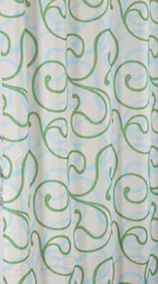 Текстильная шторка для ванной Iddis 412P20RI11
