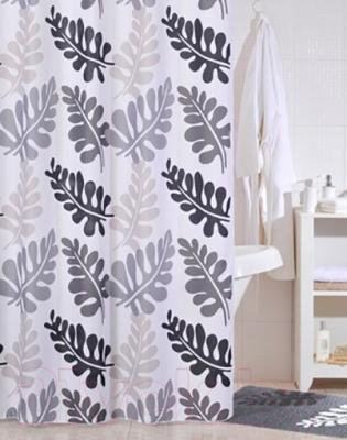Текстильная шторка для ванной Iddis 420P20RI11 - в интерьере