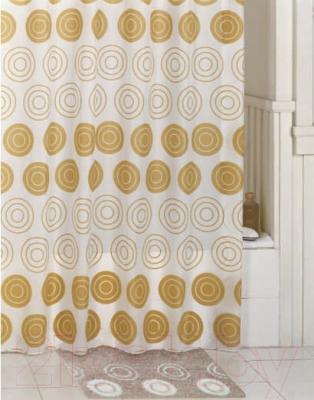 Текстильная шторка для ванной Iddis 430P20RI11 - в интерьере