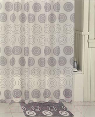 Текстильная шторка для ванной Iddis 431P20RI11 - в интерьере