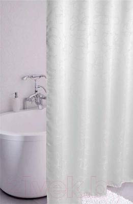 Текстильная шторка для ванной Iddis 490J200iI11 - в интерьере