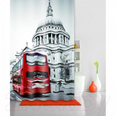Текстильная шторка для ванной Iddis 542P18Ri11