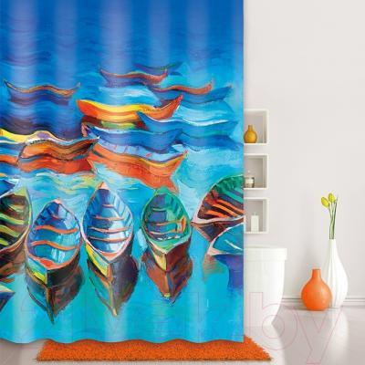 Текстильная шторка для ванной Iddis 560P18Ri11