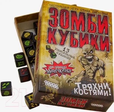 Настольная игра Мир Хобби Зомби Кубики 1259