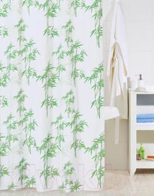 Текстильная шторка для ванной Iddis SCID010P - в интерьере