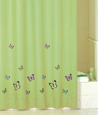 Текстильная шторка для ванной Iddis SCID032P