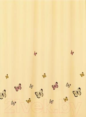 Текстильная шторка для ванной Iddis SCID033P