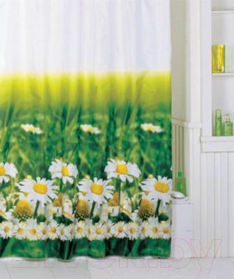 Текстильная шторка для ванной Iddis SCID050P