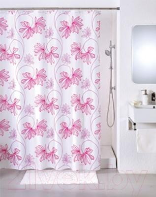 Текстильная шторка для ванной Iddis SCID070P - в интерьере