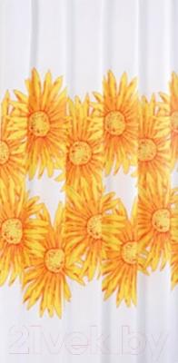 Текстильная шторка для ванной Iddis SCID092P
