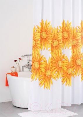 Текстильная шторка для ванной Iddis SCID092P - в интерьере