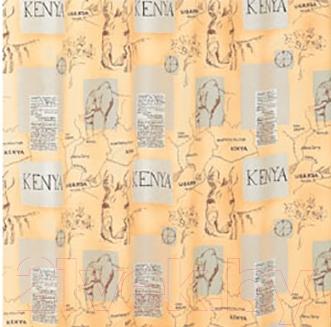 Текстильная шторка для ванной Iddis SCID110P