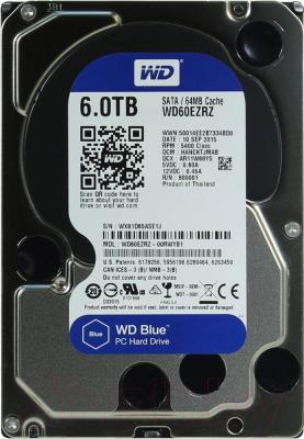 Жесткий диск Western Digital Blue 6TB (WD60EZRZ)