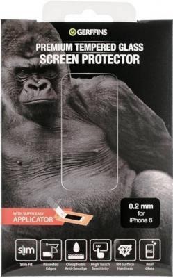 Защитное стекло для телефона Gerffins 603484 (0.2мм, для iPhone 6)