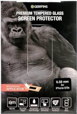 Защитное стекло для телефона Gerffins 603399 (0.33мм, для iPhone 5/5s)