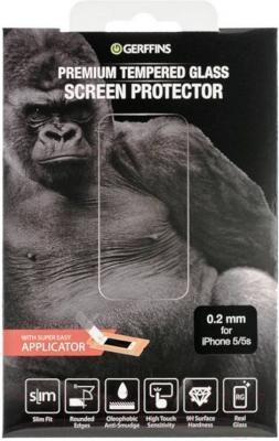 Защитное стекло для телефона Gerffins 603483 (0.2мм, для iPhone 5/5s)