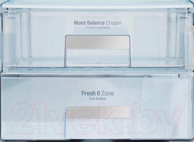 Холодильник с морозильником LG GA-B489SEQZ
