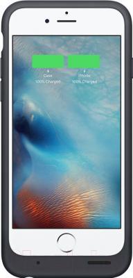 Чехол-зарядка Apple MGQL2ZM/A -  на экране блокировки отображаются точные данные об остатке заряда телефона и чехла
