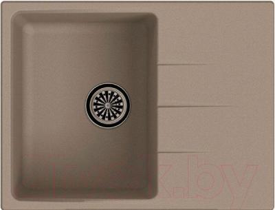 Мойка кухонная Ewigstein Gerd 45F (темно-бежевый)