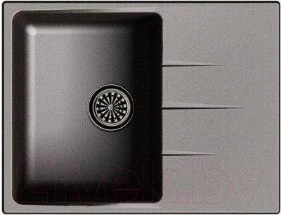 Мойка кухонная Ewigstein Gerd 45F (черный)