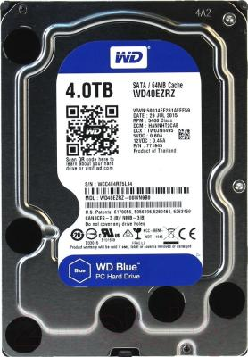 Жесткий диск Western Digital Blue 4TB (WD40EZRZ)