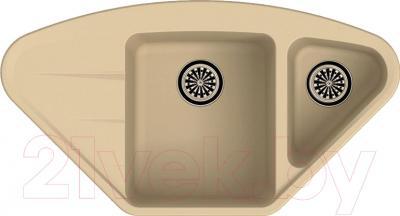 Мойка кухонная Ewigstein Wink 80KF (кремовый)