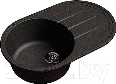 Мойка кухонная Ewigstein Elegant R50F (черный)