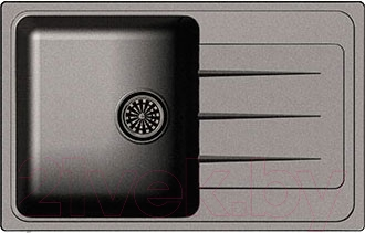 Мойка кухонная Ewigstein Elegant 50F (черный)