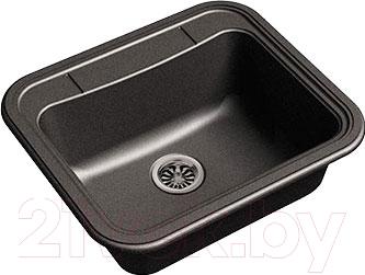 Мойка кухонная Ewigstein Antik 60 (черный)