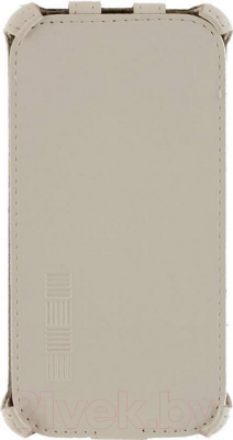 Чехол-флип NoBrand Slim 611782 (белый)