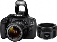 Зеркальный фотоаппарат Canon EOS 1200D Double Kit 18-55 III + 50mm f/1.8 STM -