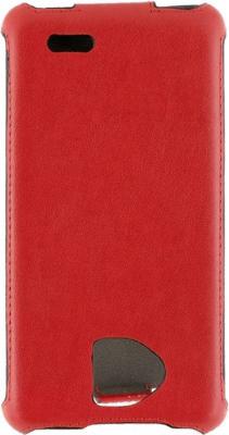 Чехол-флип NoBrand Slim 611322 (красный)