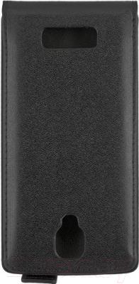 Чехол-флип NoBrand Slim 610973 (черный)