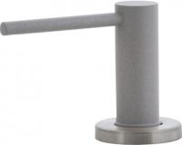 Дозатор встраиваемый в мойку Ewigstein 002 (серый металлик) -