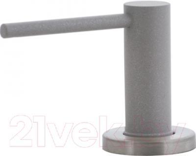Дозатор встраиваемый в мойку Ewigstein 002 (серый металлик)