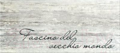 Декоративная плитка для ванной PiezaRosa Граффито 1 367671 (200x450, серый)