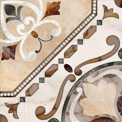 Плитка для пола PiezaRosa Диамант 733262 (450x450, бежевый)