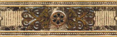 Бордюр PiezaRosa Империал 1 273761 (80x250, бежевый)