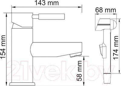 Смеситель Wasserkraft Main 4108 - Смеситель Wasserkraft Main 4108